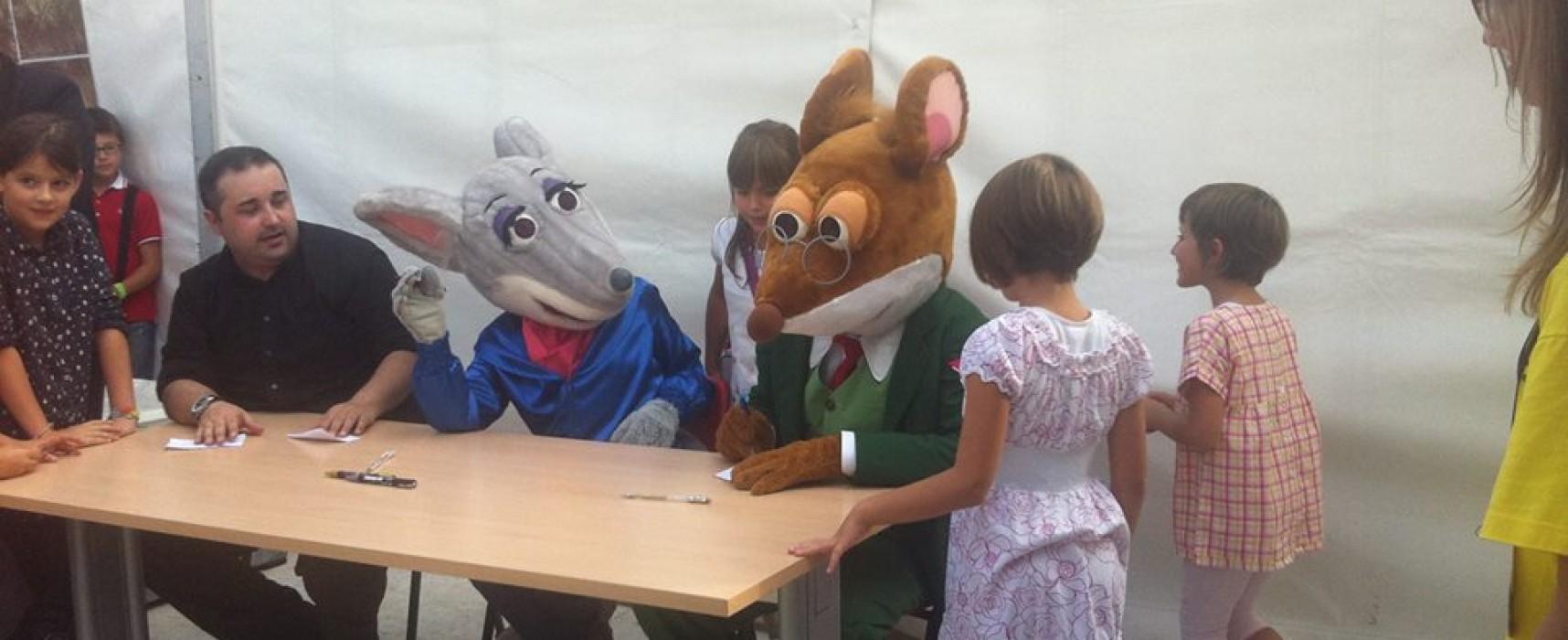 Geronimo e Tea Stilton, i topi più famosi di Italia a Pordenonelegge!