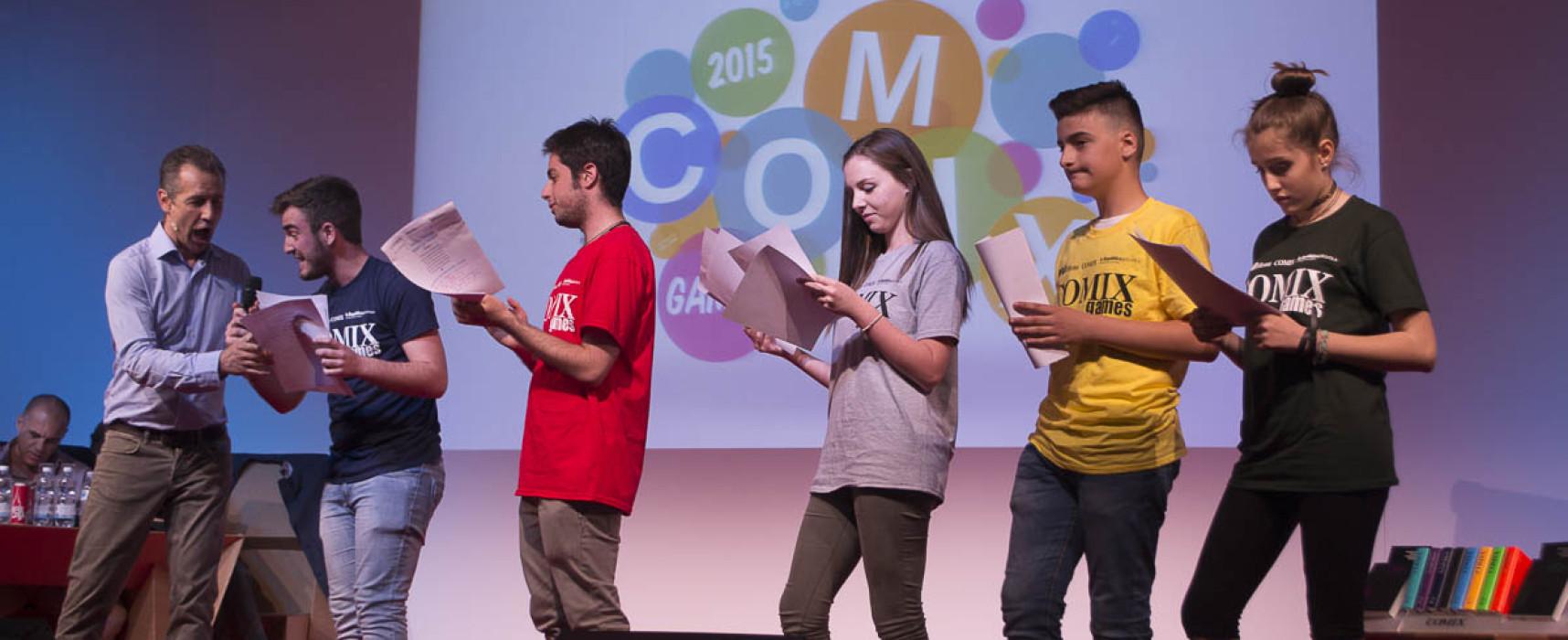 Le scuole finaliste dei Comix Games 2017