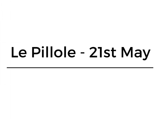 Le Pillole – 21st May