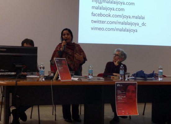 Malalai Joya: l'istruzione contro la distruzione