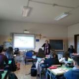 """Il resoconto Istituto """"Galileo Galilei"""" di Acireale che ha adottato Paola Caridi"""